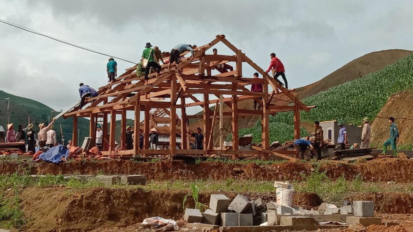150 hộ dân ở Vân Hồ (Sơn La) cần di dời khẩn cấp vì nguy cơ sạt lở