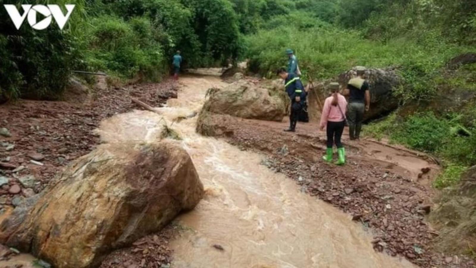 UBND tỉnh Sơn La yêu cầu các địa phương chủ động ứng phó với động đất và mưa lớn