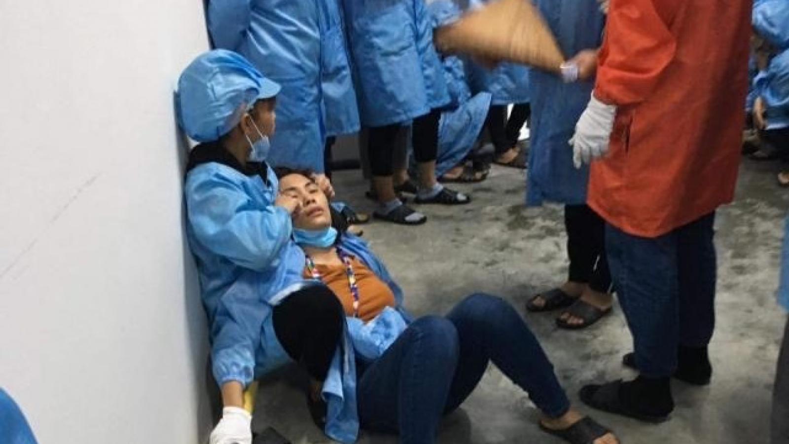 Điều tra sự cố tại công ty ở Quảng Ninh khiến nhiều công nhân bị ngất