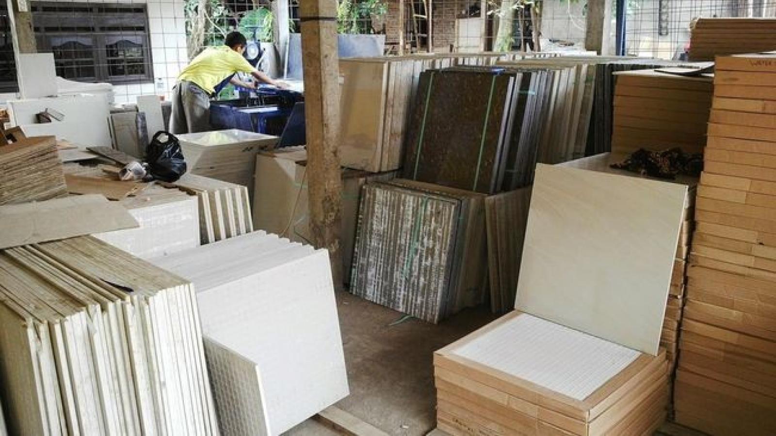 Indonesia áp thuế nhập khẩu đối với gạch men ốp lát Việt Nam