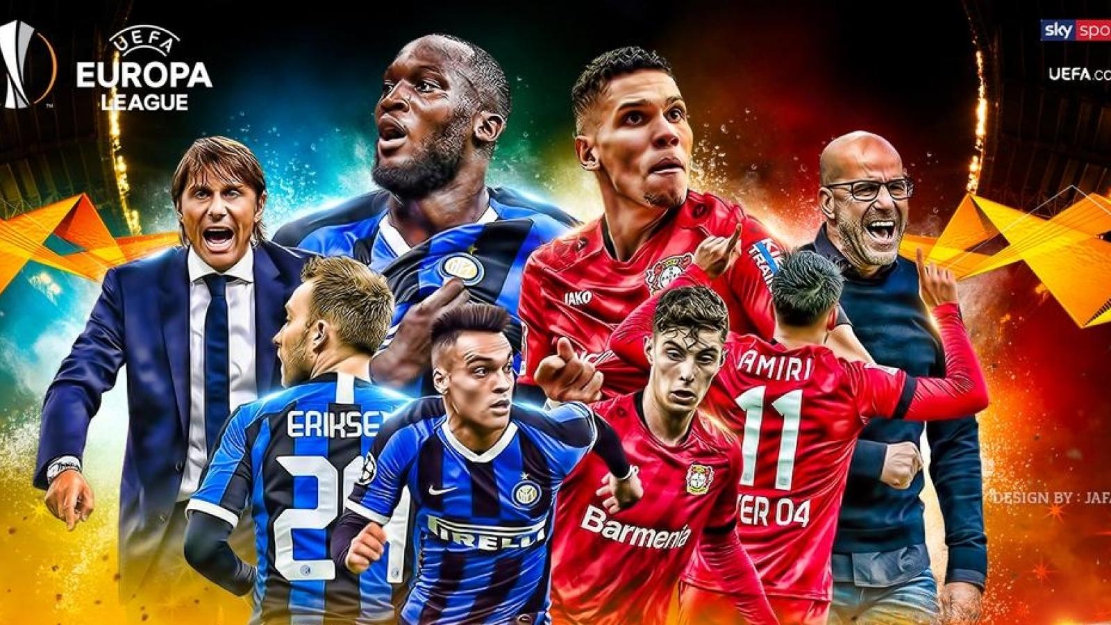 Inter Milan - Bayer Leverkusen: Romelu Lukaku so giày Kai Havertz