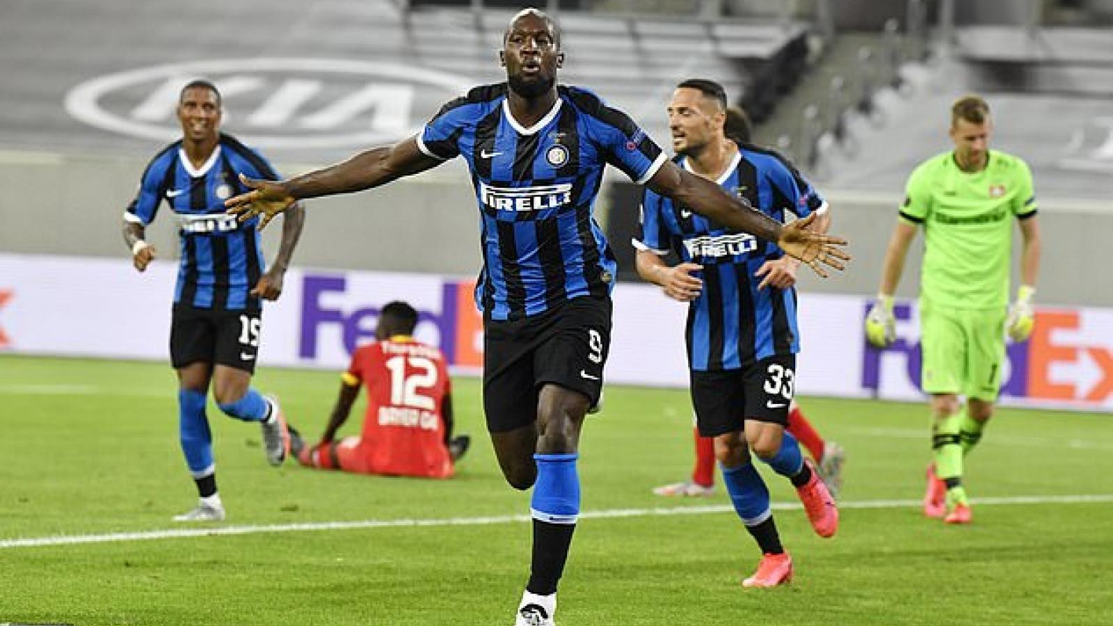 Romelu Lukaku tỏa sáng, Inter Milan vào bán kết Europa League