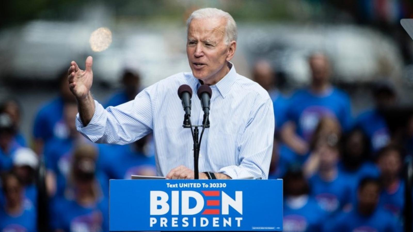 Ông Joe Biden tuyên bố sẽ ngừng xây dựng tường biên giới với Mexico