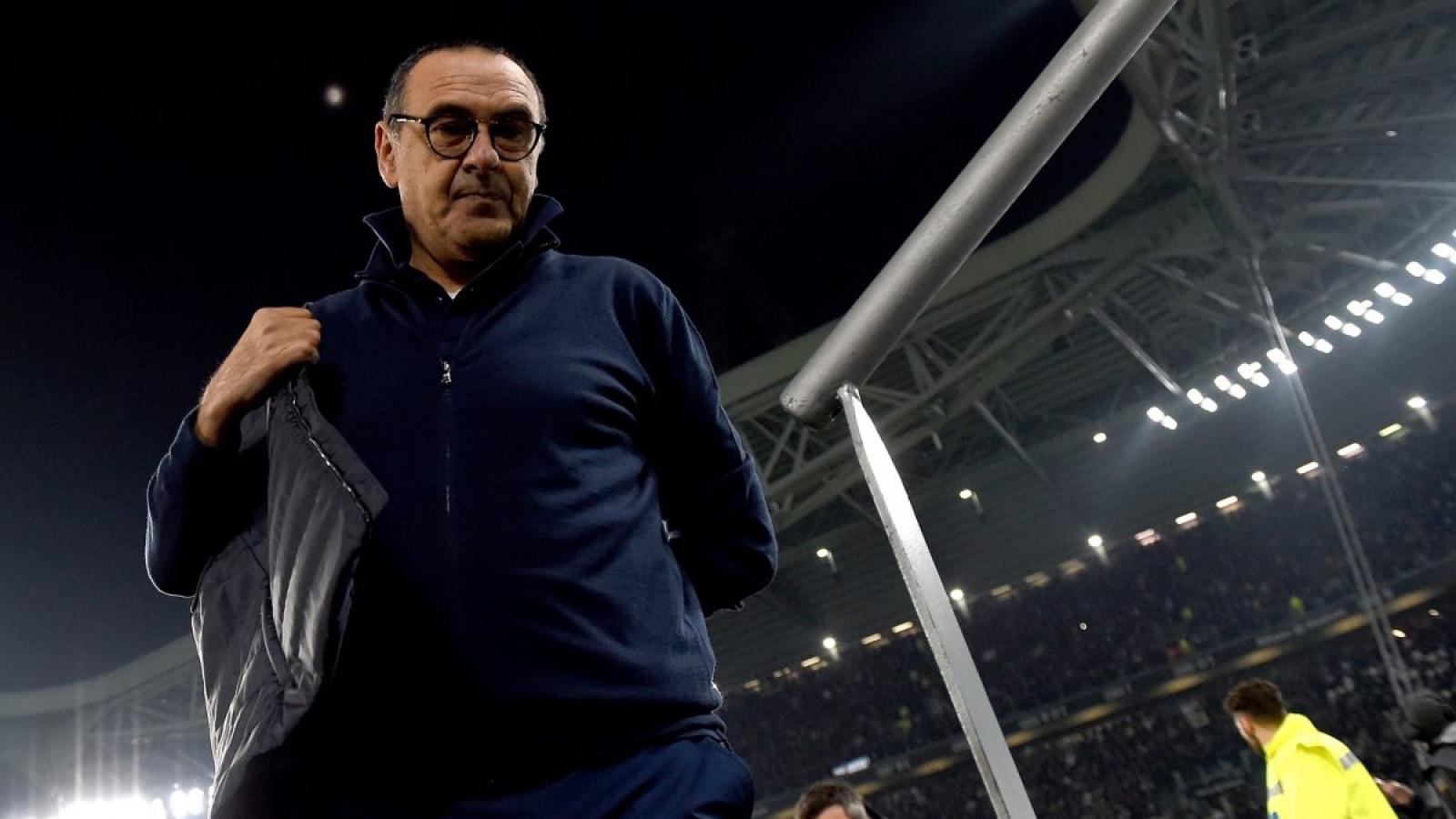 """Đón Pirlo, Juventus phải đền """"tiền tấn"""" khi sa thải Maurizio Sarri"""