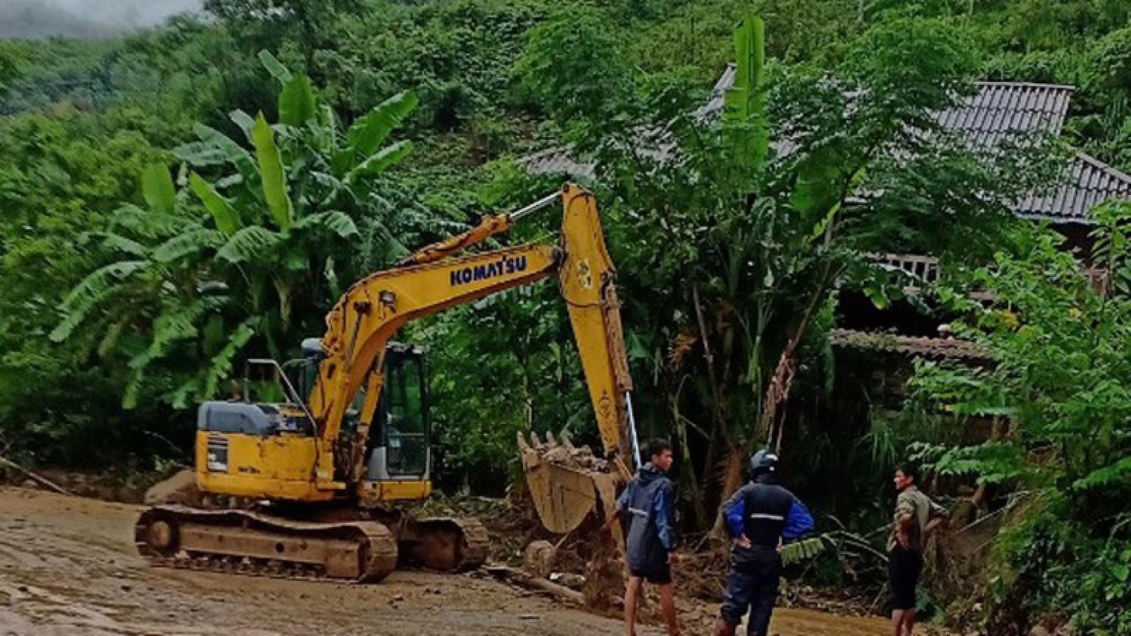Lào Cai khẩn trương khắc phục hậu quả nặng nề do mưa lũ