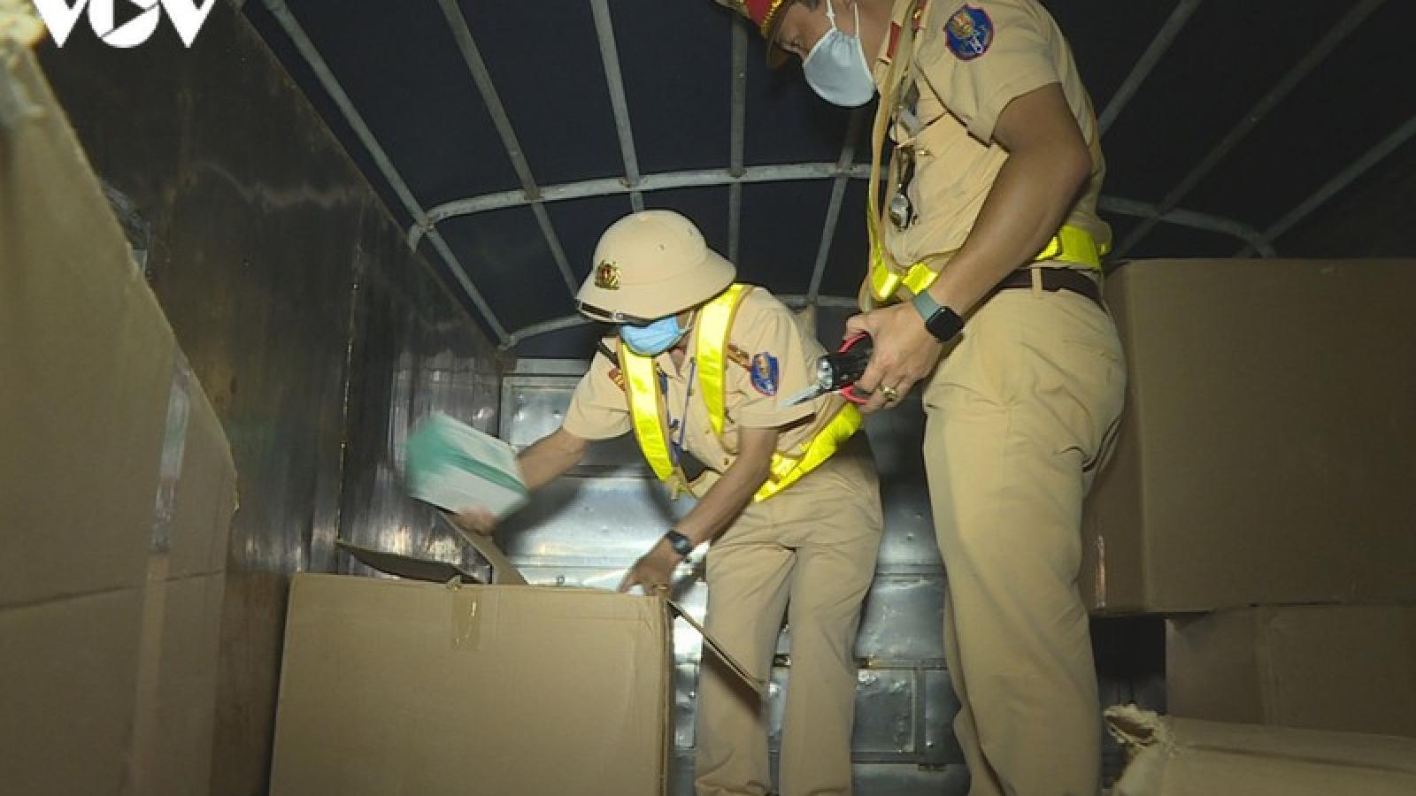 Đắk Lắk thu giữ gần 200.000 khẩu trang không rõ nguồn gốc