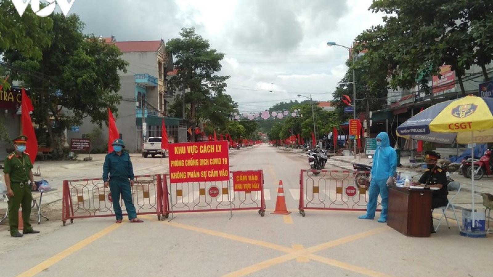 Tất cả F1 tại Đình Lập, Lạng Sơn đã hoàn thành cách ly y tế tập trung