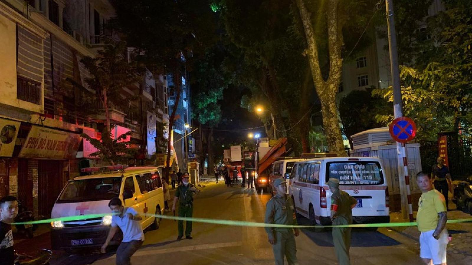 Khởi tố vụ sập giàn cầu ở Hà Nội khiến 4 người tử vong