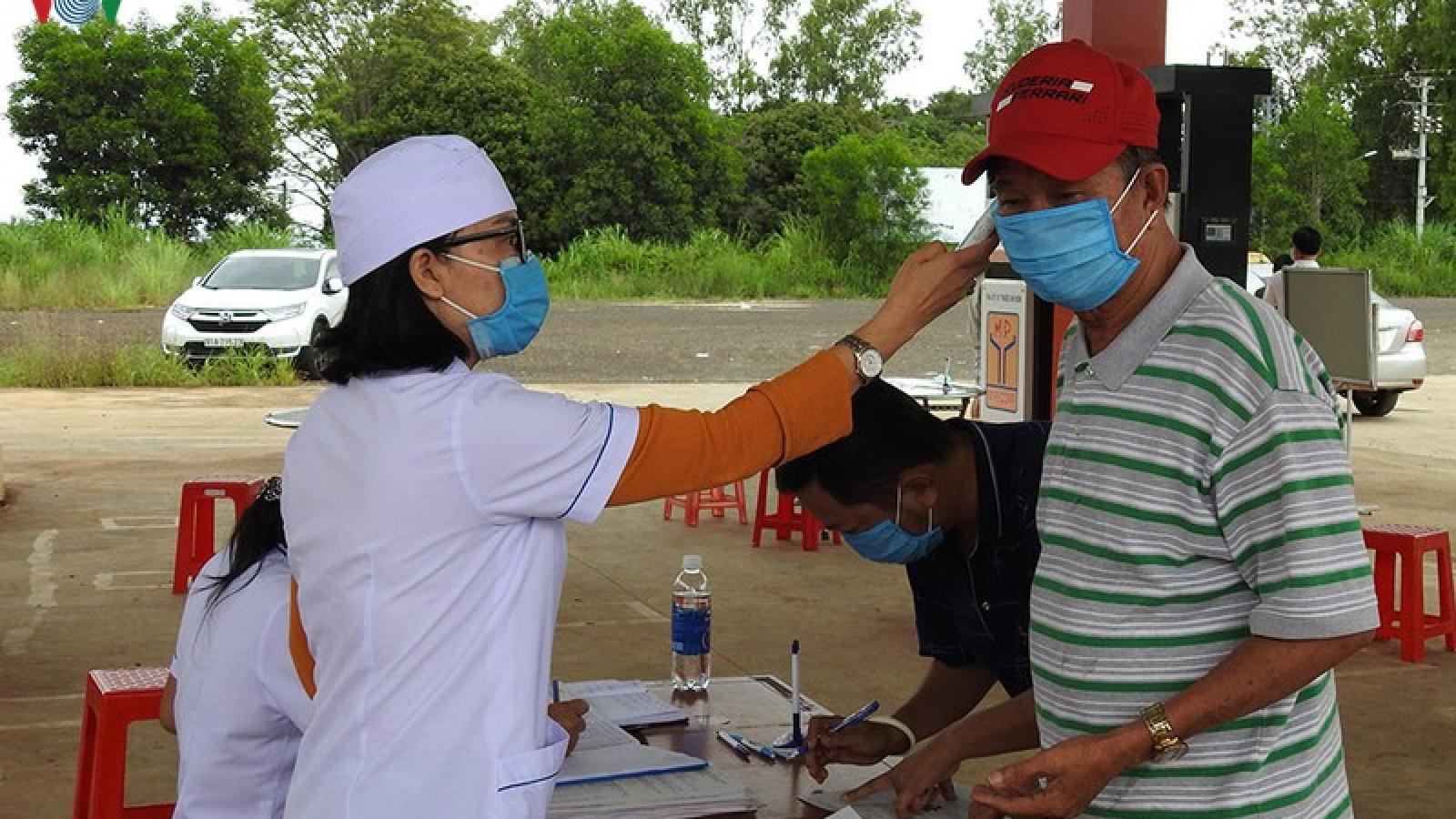 Kon Tum: Siết chặt quy định phòng chống dịch Covid-19 từ 0 giờ ngày 1/8