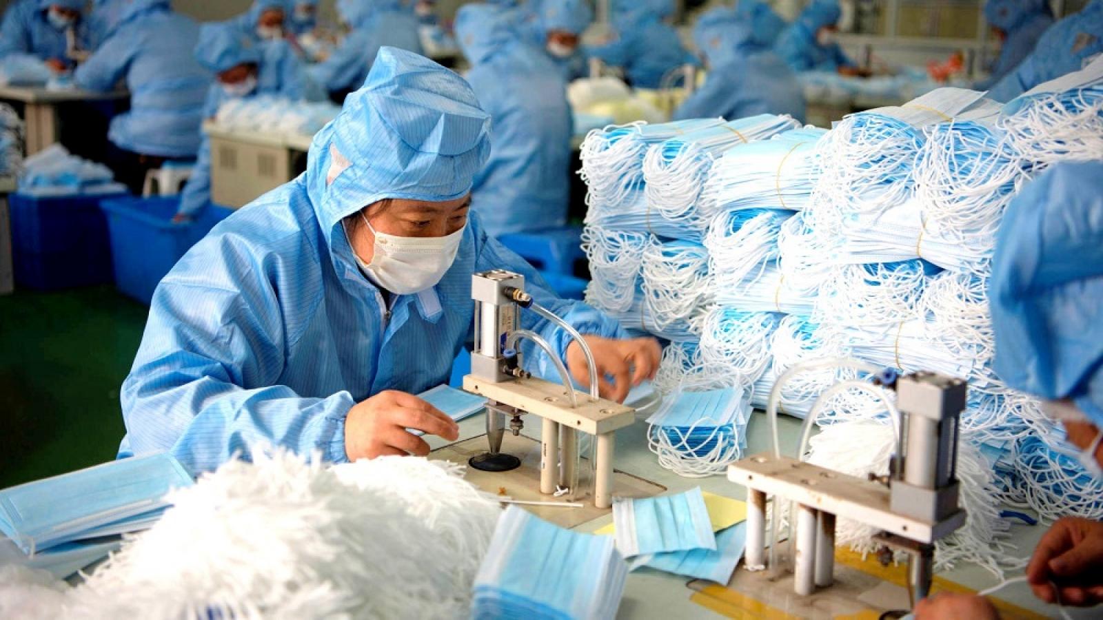 Nhu cầu về khẩu trang y tế, khẩu trang kháng khuẩn bắt đầu giảm
