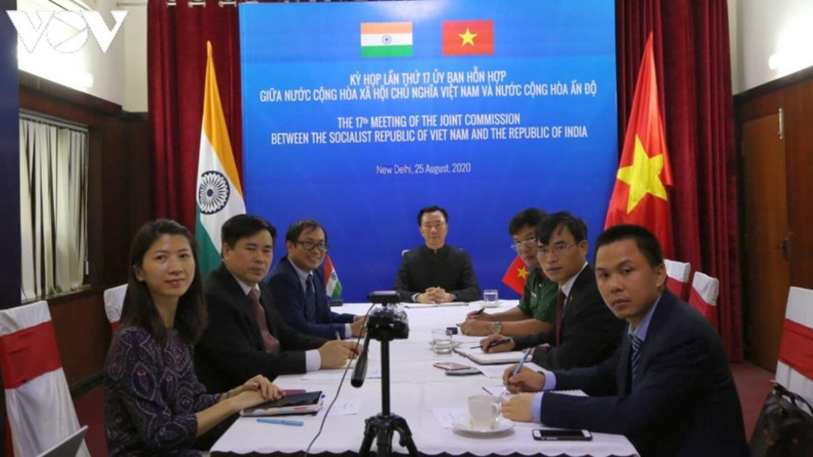 Việt Nam- Ấn Độ thúc đẩy hợp tác kinh tế, thương mại, khoa học và kỹ thuật