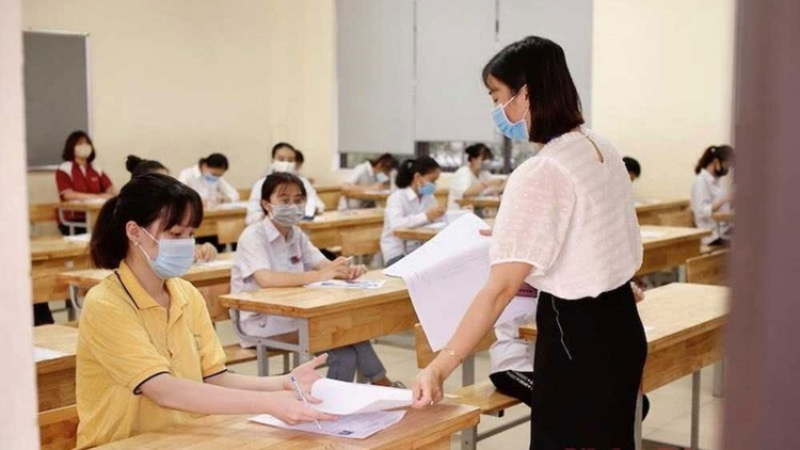 Bộ GD&ĐT kiểm tra công tác tổ chức thi THPT tại tỉnh Bắc Giang