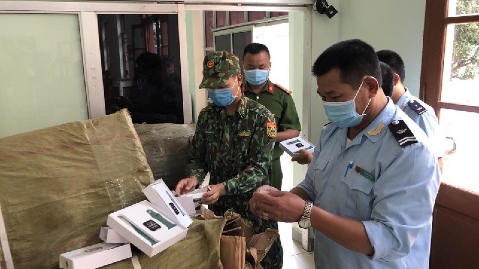 Lạng Sơn phát hiện 5 vụ vận chuyển hàng hóa trái phép qua biên giới