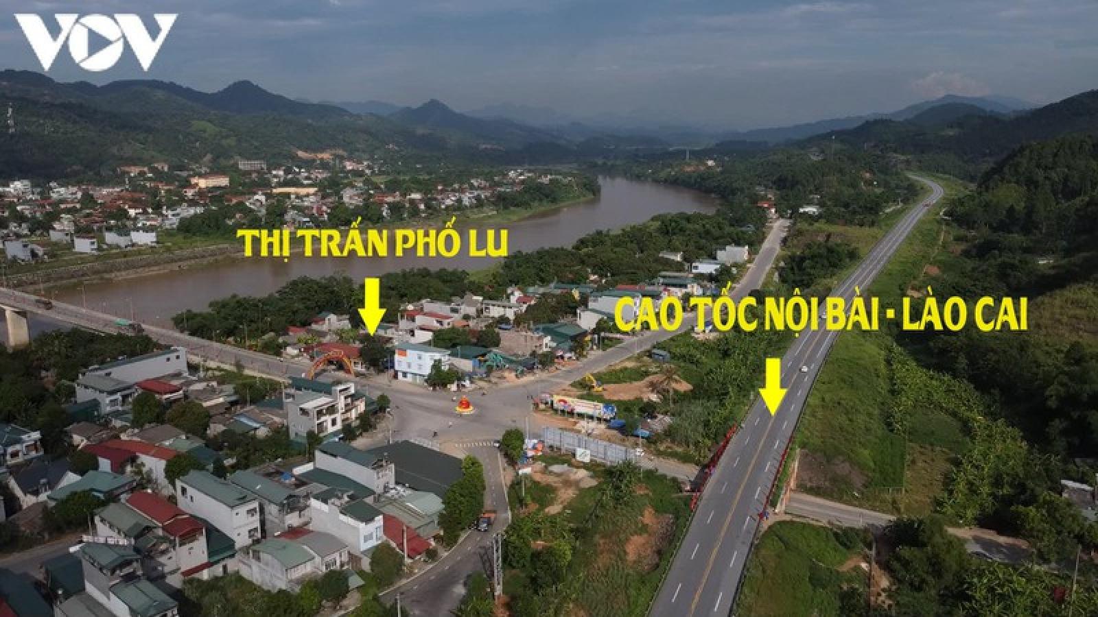 Nút giao cao tốc Nội Bài - Lào Cai xuống Phố Lu sắp được khởi công