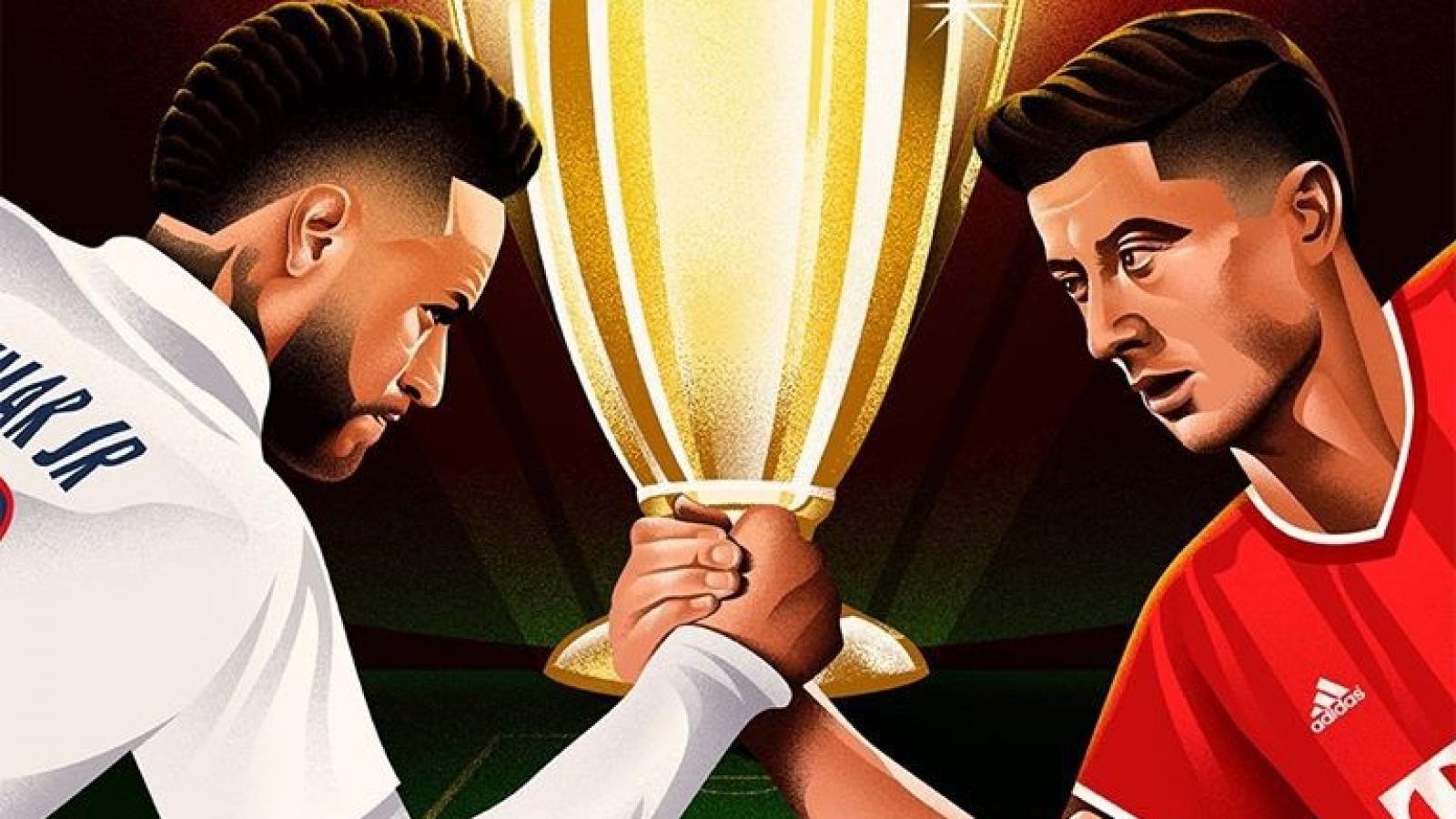 Lịch thi đấu bóng đá hôm nay 23/8: Rực lửa chung kết Champions League 19/20