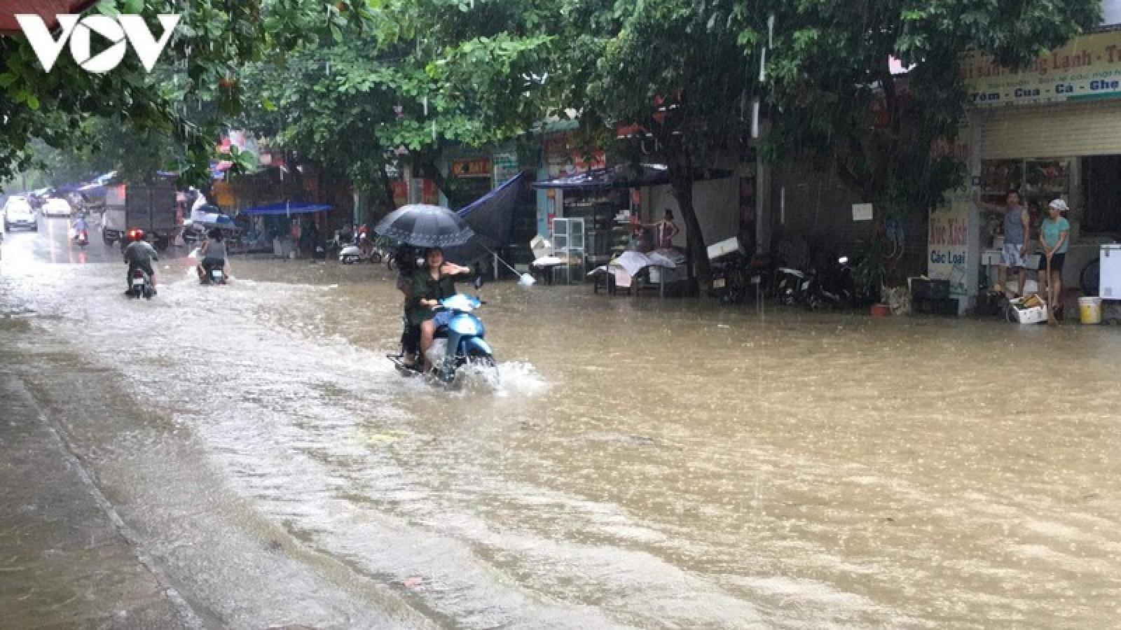 Yên Bái tập trung khắc phục hậu quả mưa lũ, ngập úng