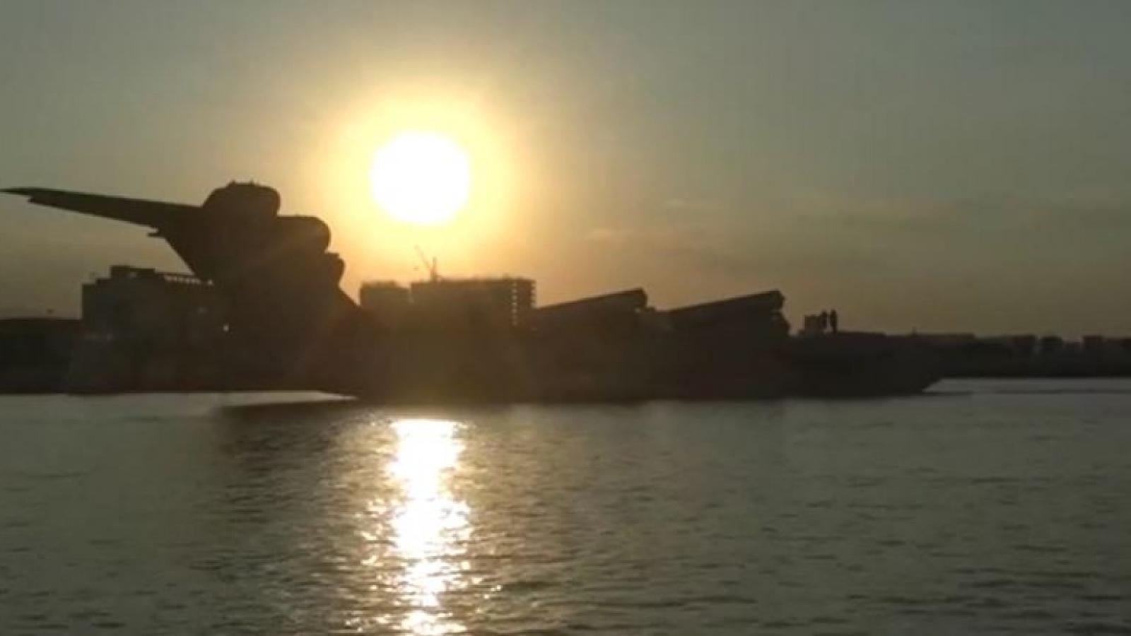 Video: Thủy phi cơ Lun 903 - Quái vật biển Caspian thời Liên Xô
