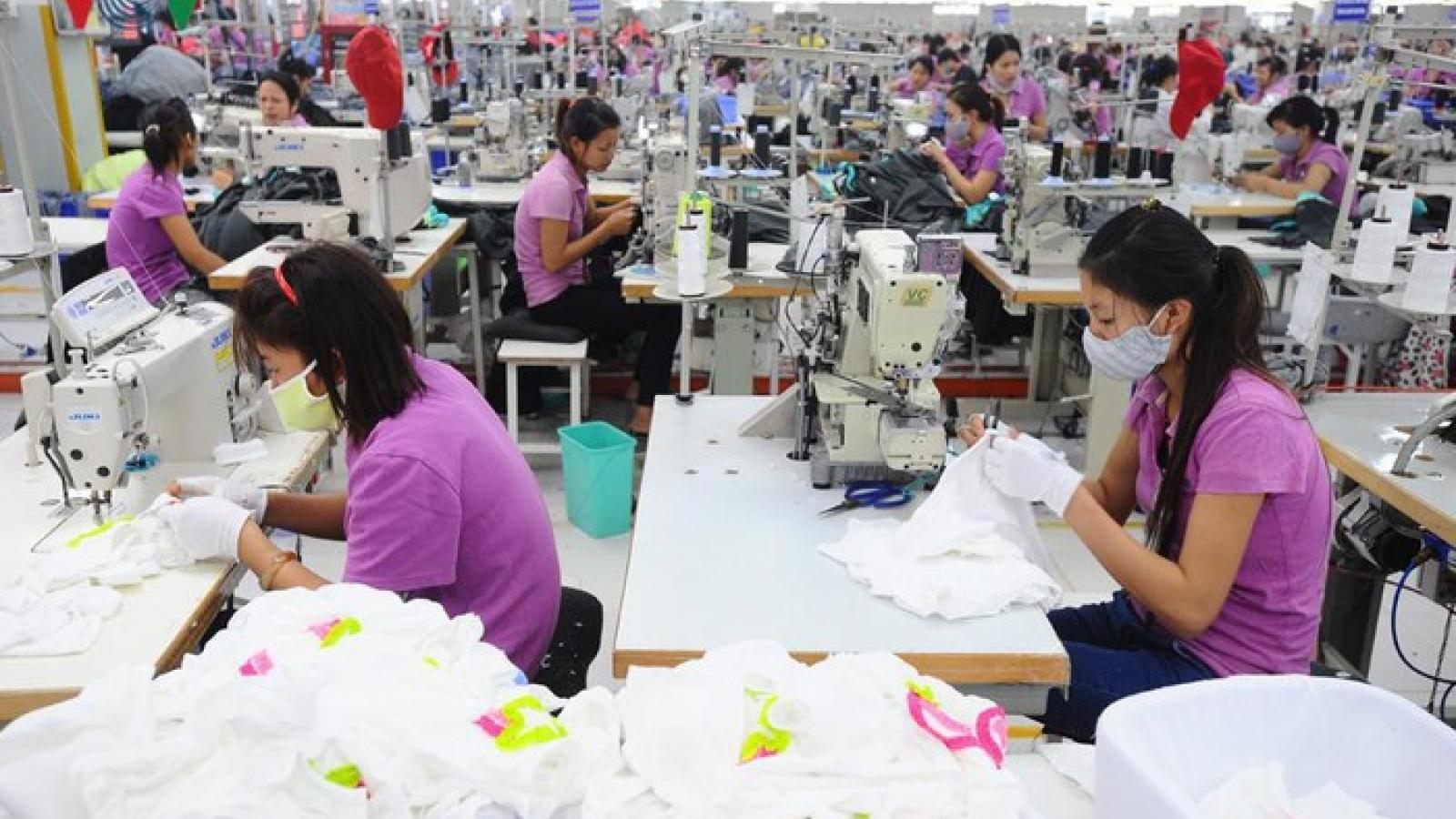 6 tháng cuối năm xuất khẩu dệt may tiếp tục giảm từ 14 - 18%