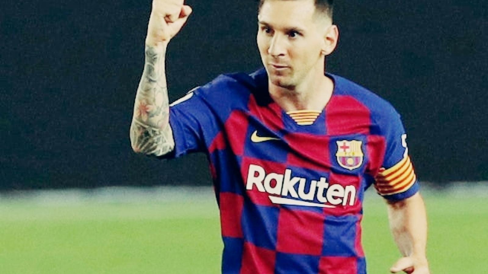 MU sẵn sàng ký hợp đồng với Messi