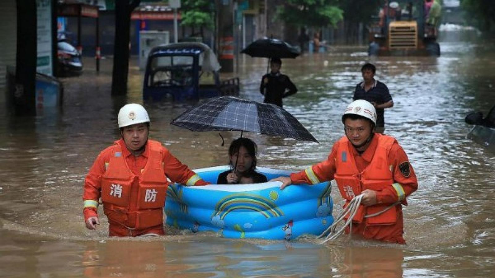 Bão Hagupit đổ bộ vào đất liền Trung Quốc