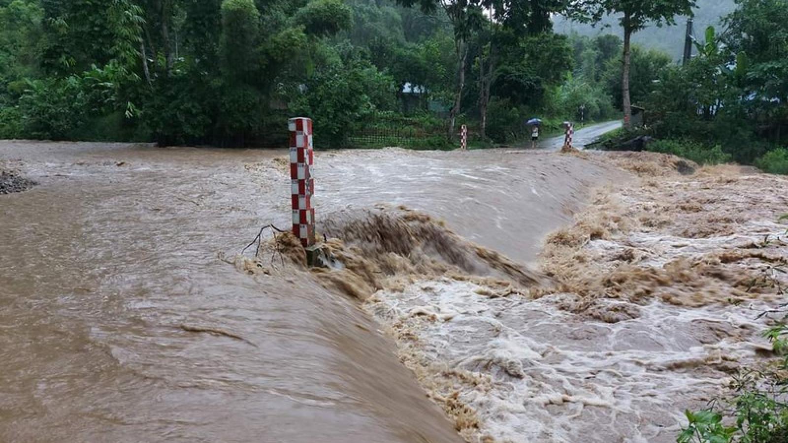 Cao Bằng, Bắc Kạn Không để học sinh bỏ thi THPT do mưa lũ
