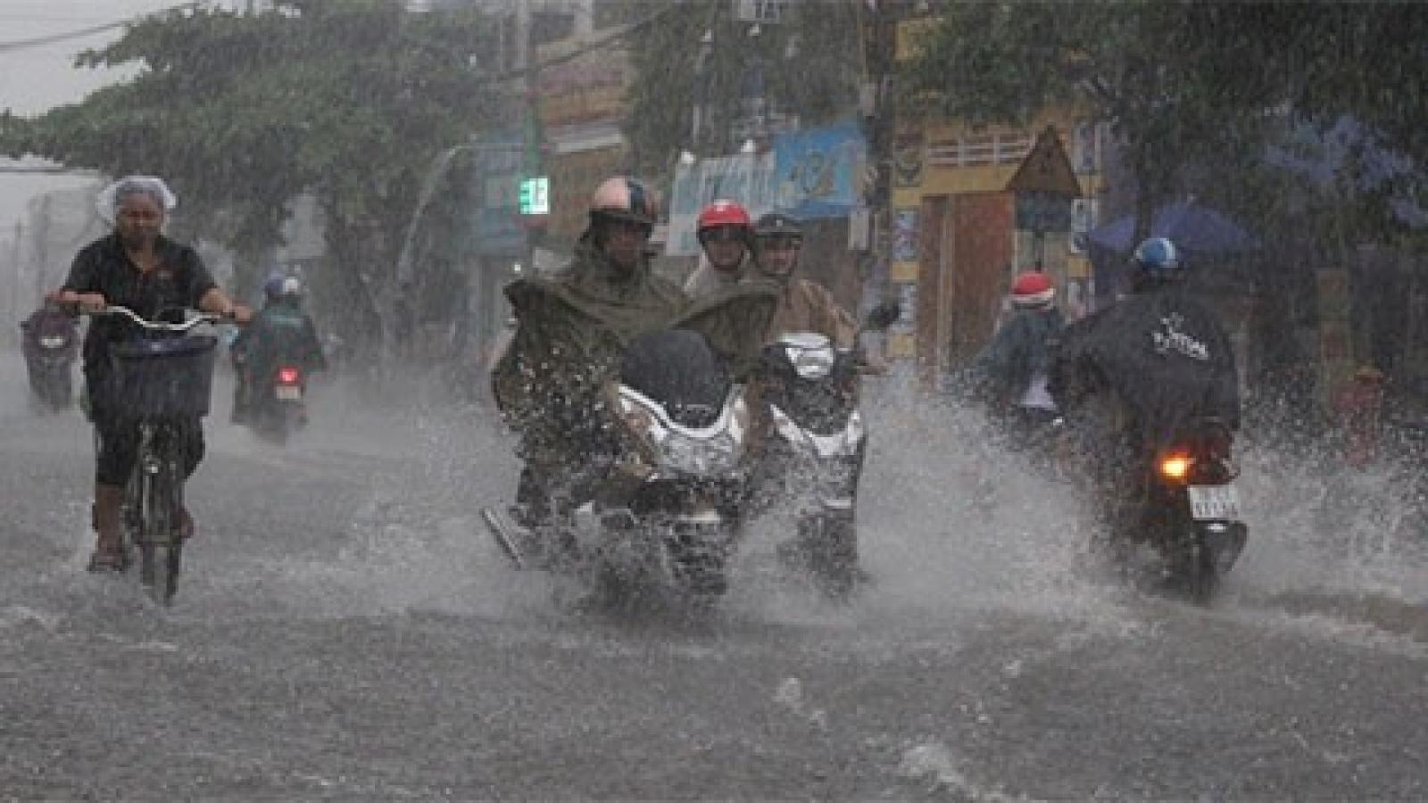 Thời tiết hôm nay (1/8): Áp thấp nhiệt đới gây mưa lớn trên cả nước