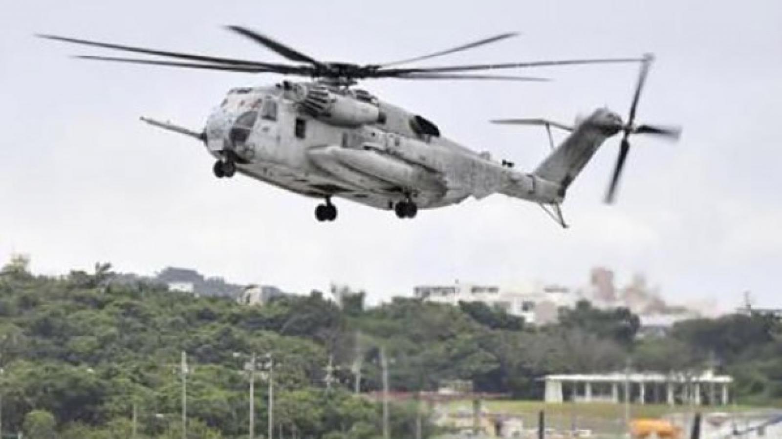 Một trực thăng quân sự Mỹ phải hạ cánh khẩn cấp sau khi bị bắn
