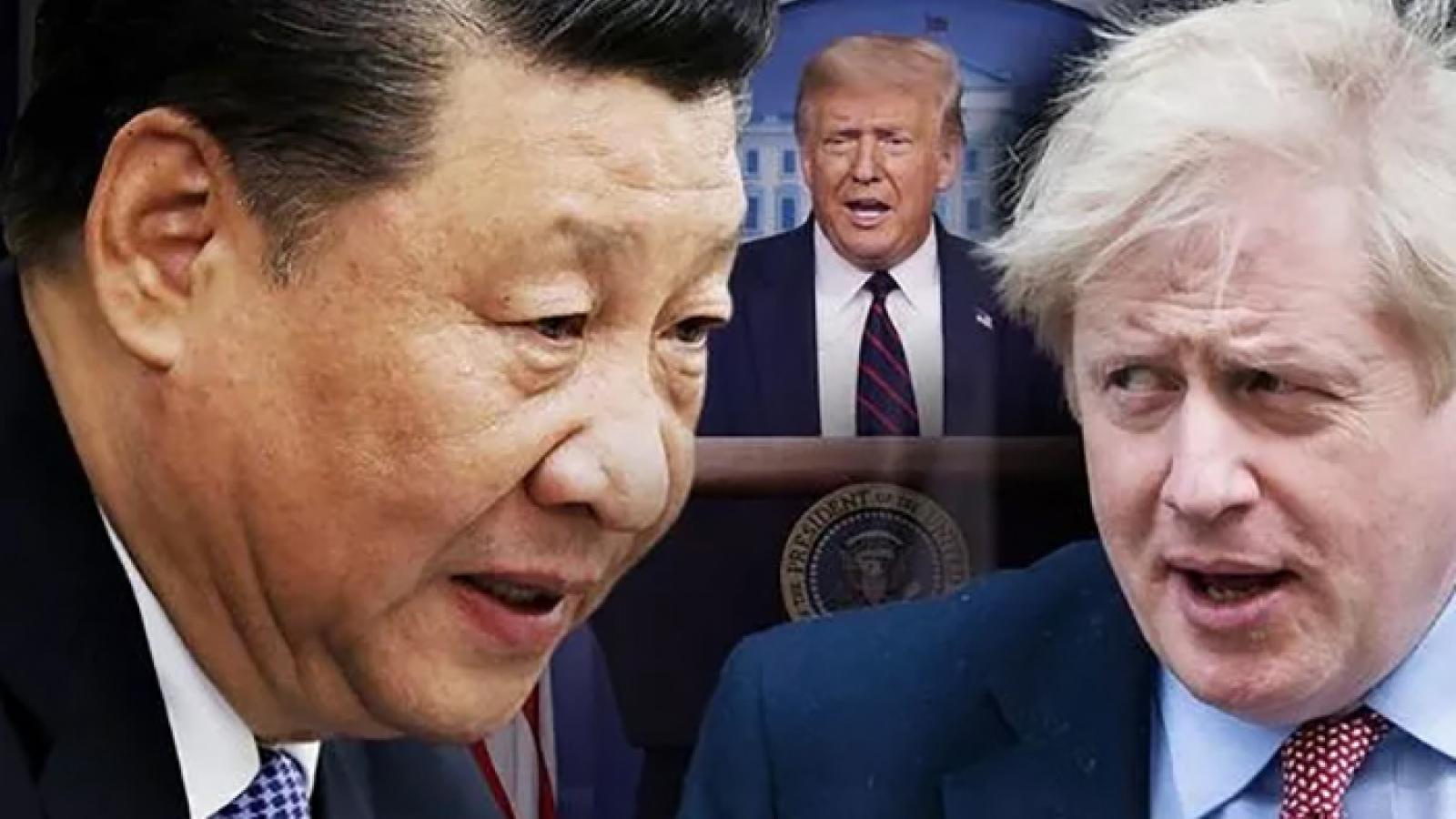 """Anh """"thiệt đơn thiệt kép"""" nếu rơi vào vòng xoáy đối đầu với Trung Quốc"""