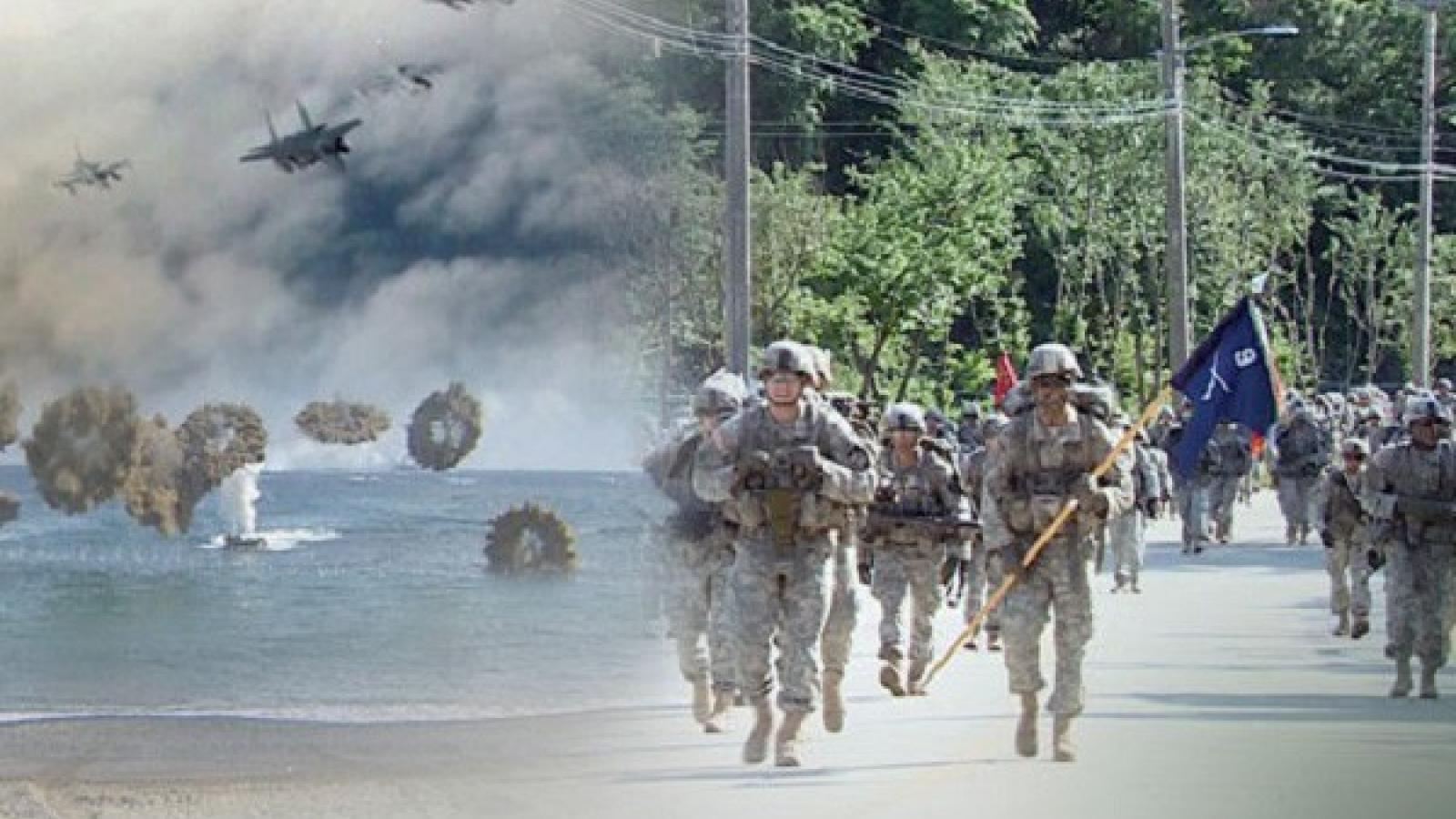 Mỹ - Hàn tập trận kiểm soát khủng hoảng