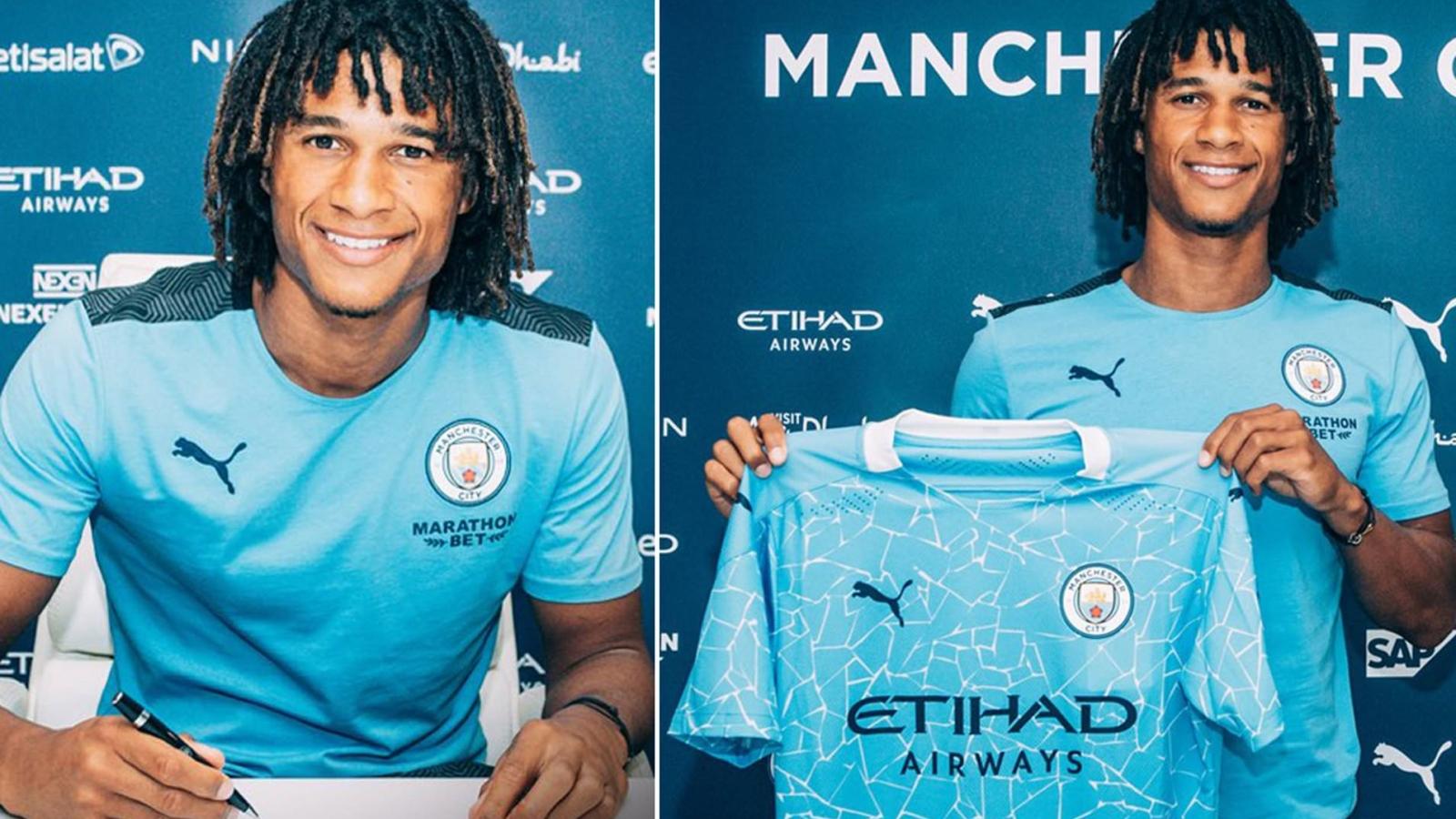 CHÍNH THỨC: Nathan Ake ký hợp đồng 5 năm với Man City