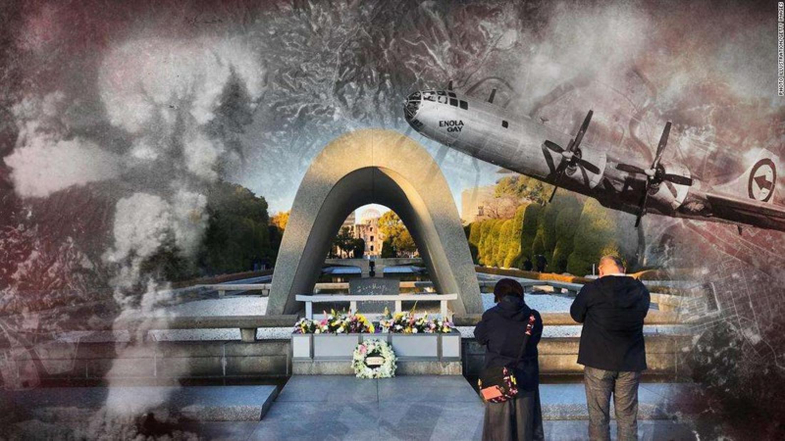 Nhật Bản kỷ niệm 75 năm Mỹ ném bom nguyên tử xuống Hiroshima