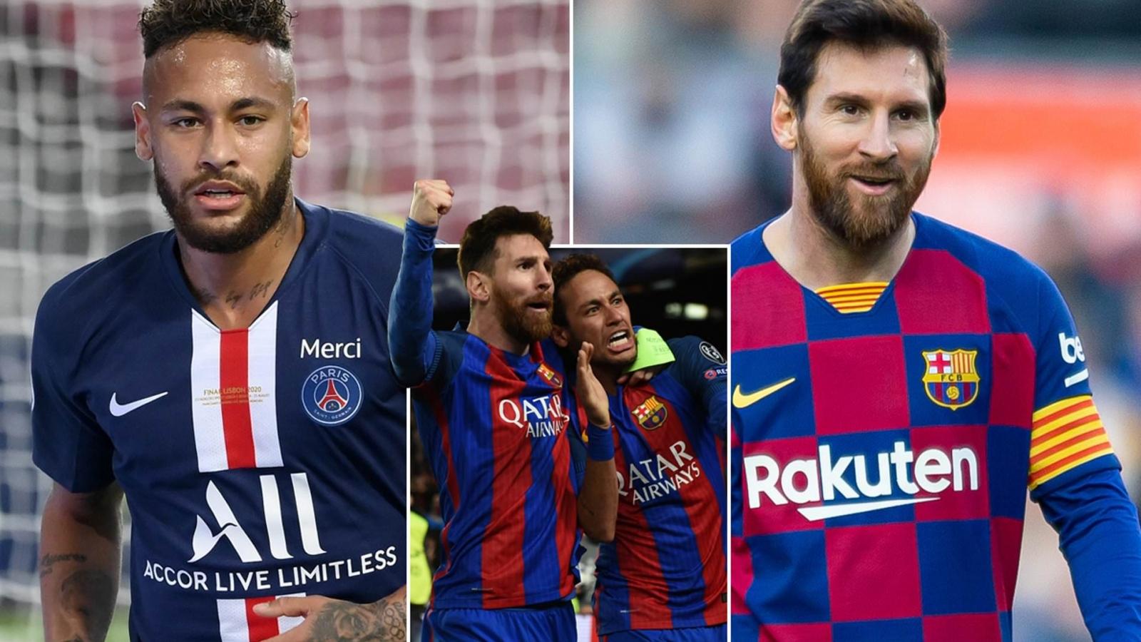 Neymar cam kết tương lai, mời gọi Lionel Messi tới PSG