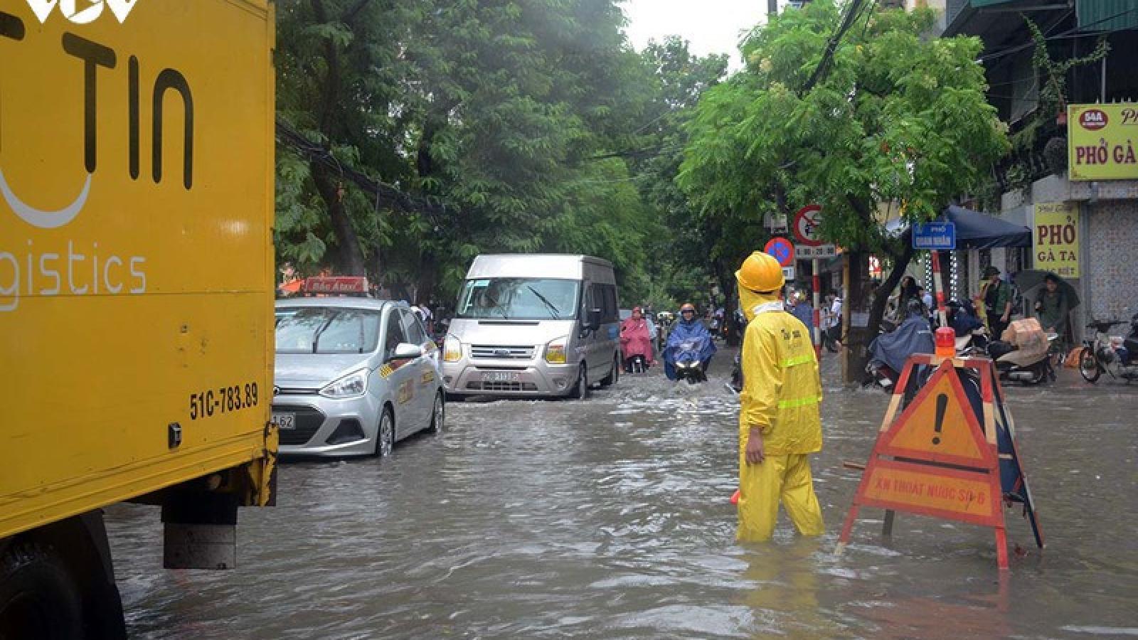 Phòng chống ngập lụt, úng cục bộ Khu vực Bắc Bộ và Bắc Trung Bộ