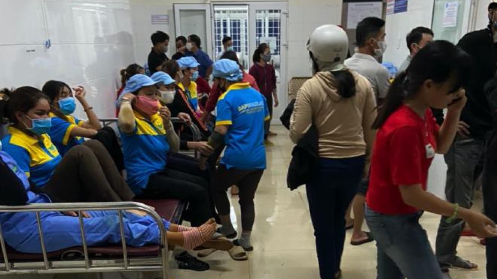 Gần 100 công nhân ở Đắk Lắk nhập viện, nghi ngộ độc thực phẩm
