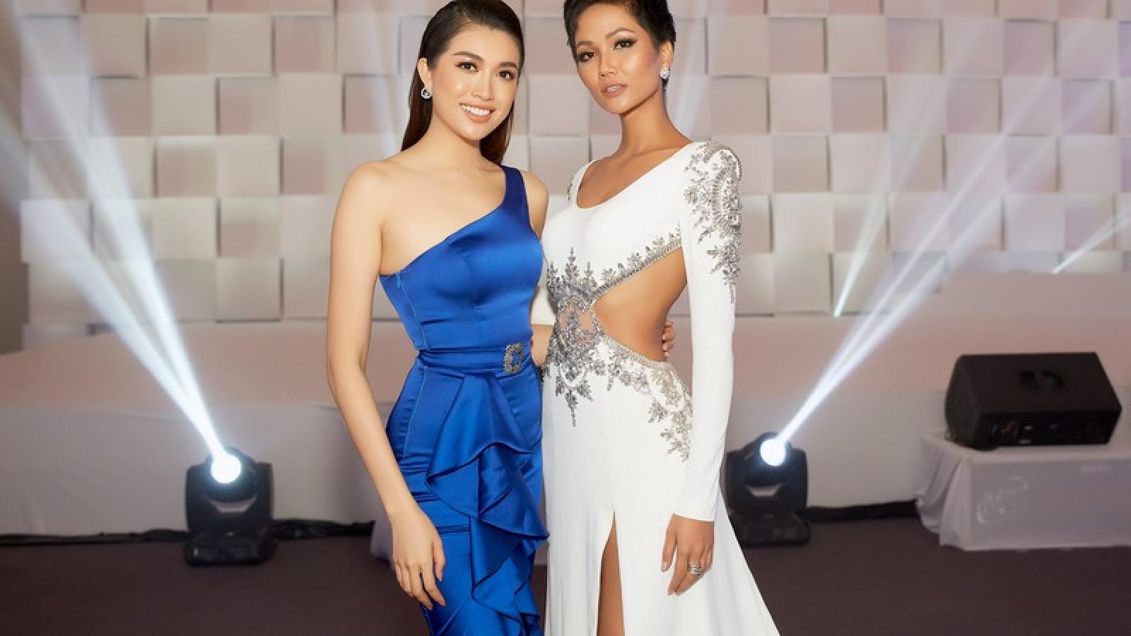 Hoa hậu H'Hen Niê - Á hậu Lệ Hằng chung tay ủng hộ Đà Nẵng chống dịch