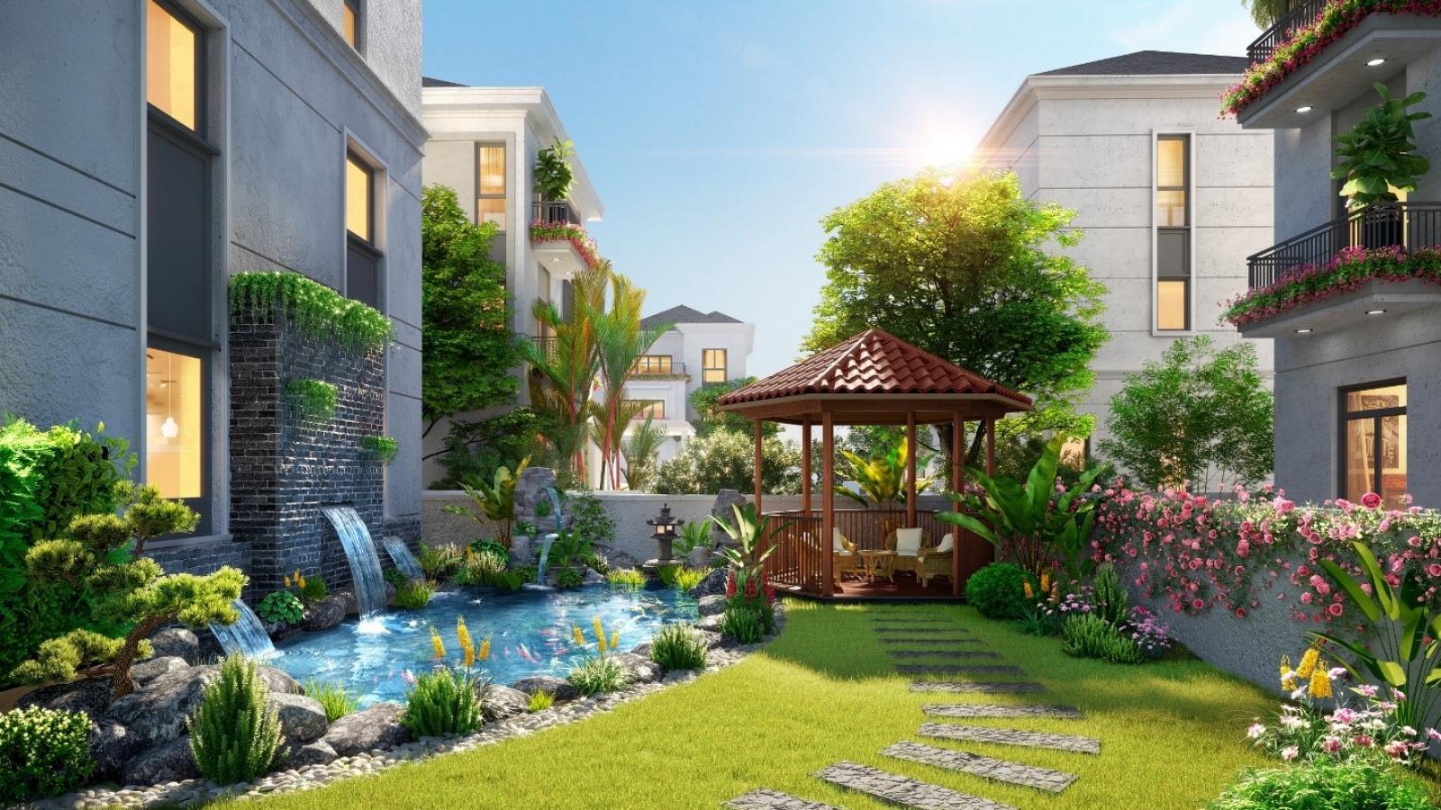 Cơ hội hiếm có sở hữu nhà phố vườn sinh thái tại Aqua City