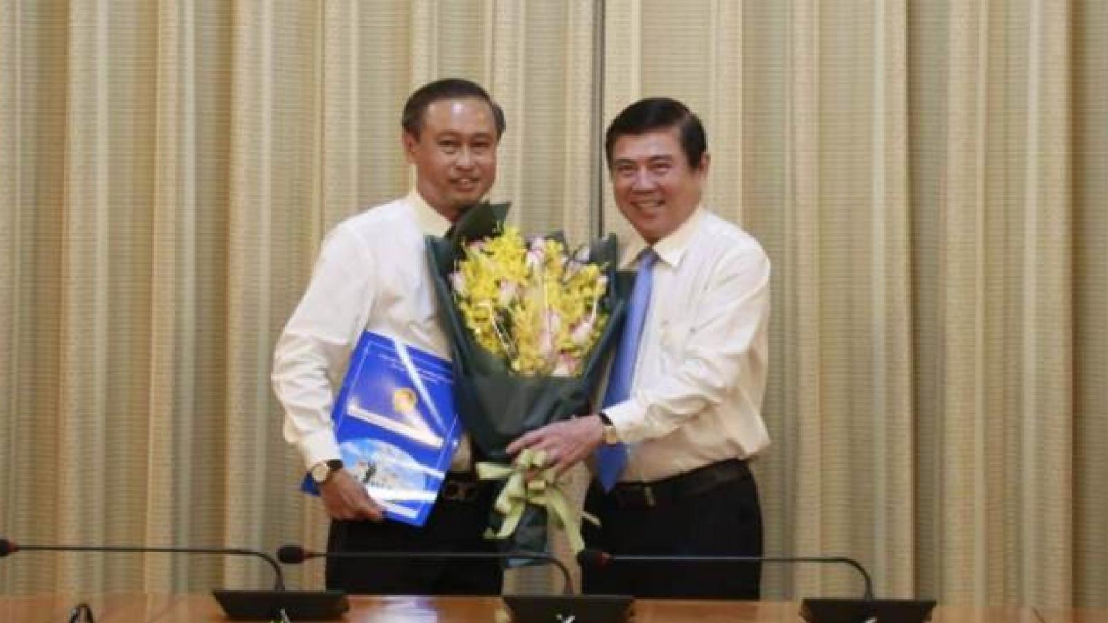 Giám đốc Sở Văn hóa Thể thao TPHCM được điều động làm Giám đốc Sở Nội vụ