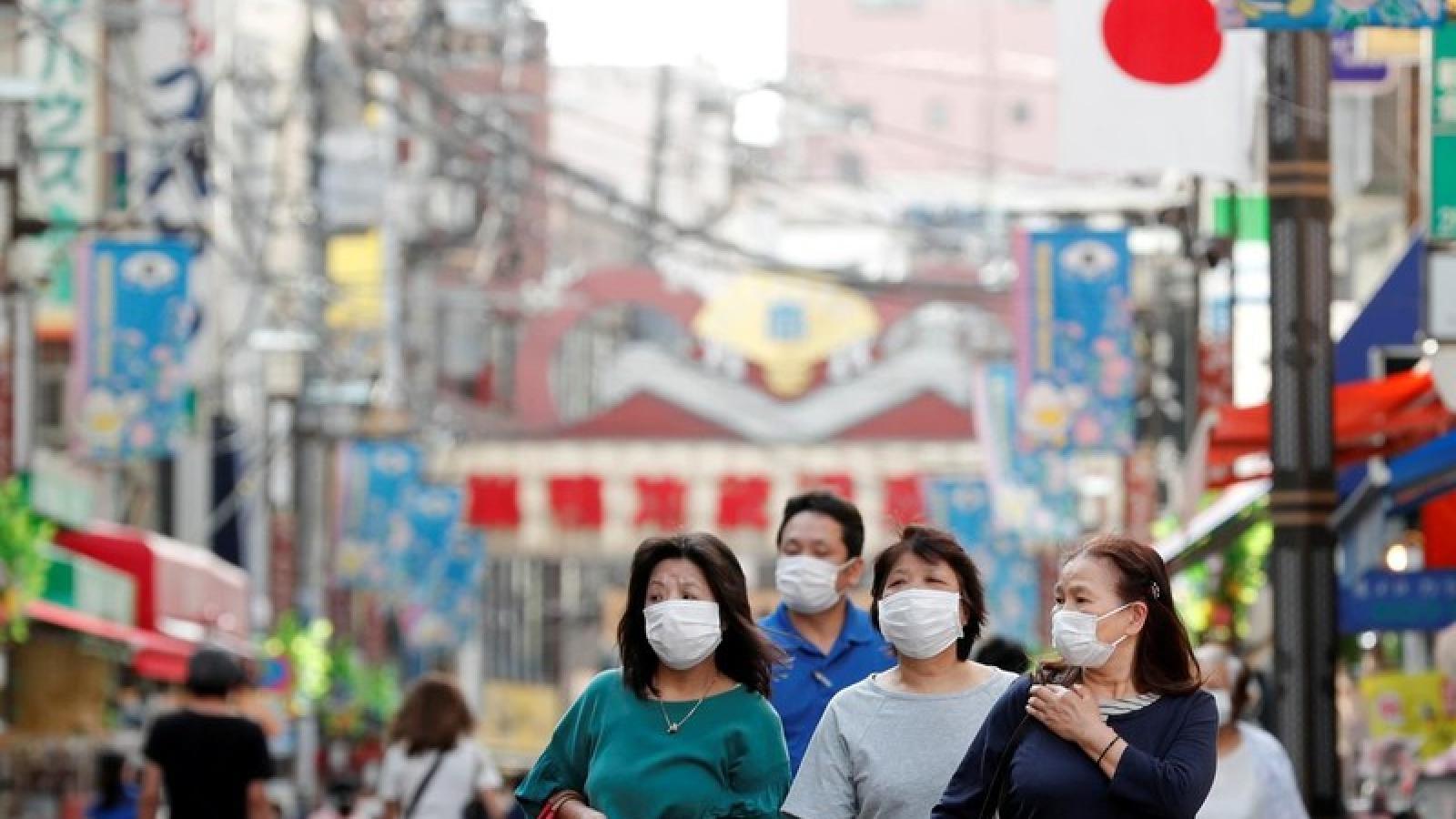 Nhật Bản: Số ca mắc Covid-19 trong ngày tại Osaka lần đầu vượt qua Tokyo