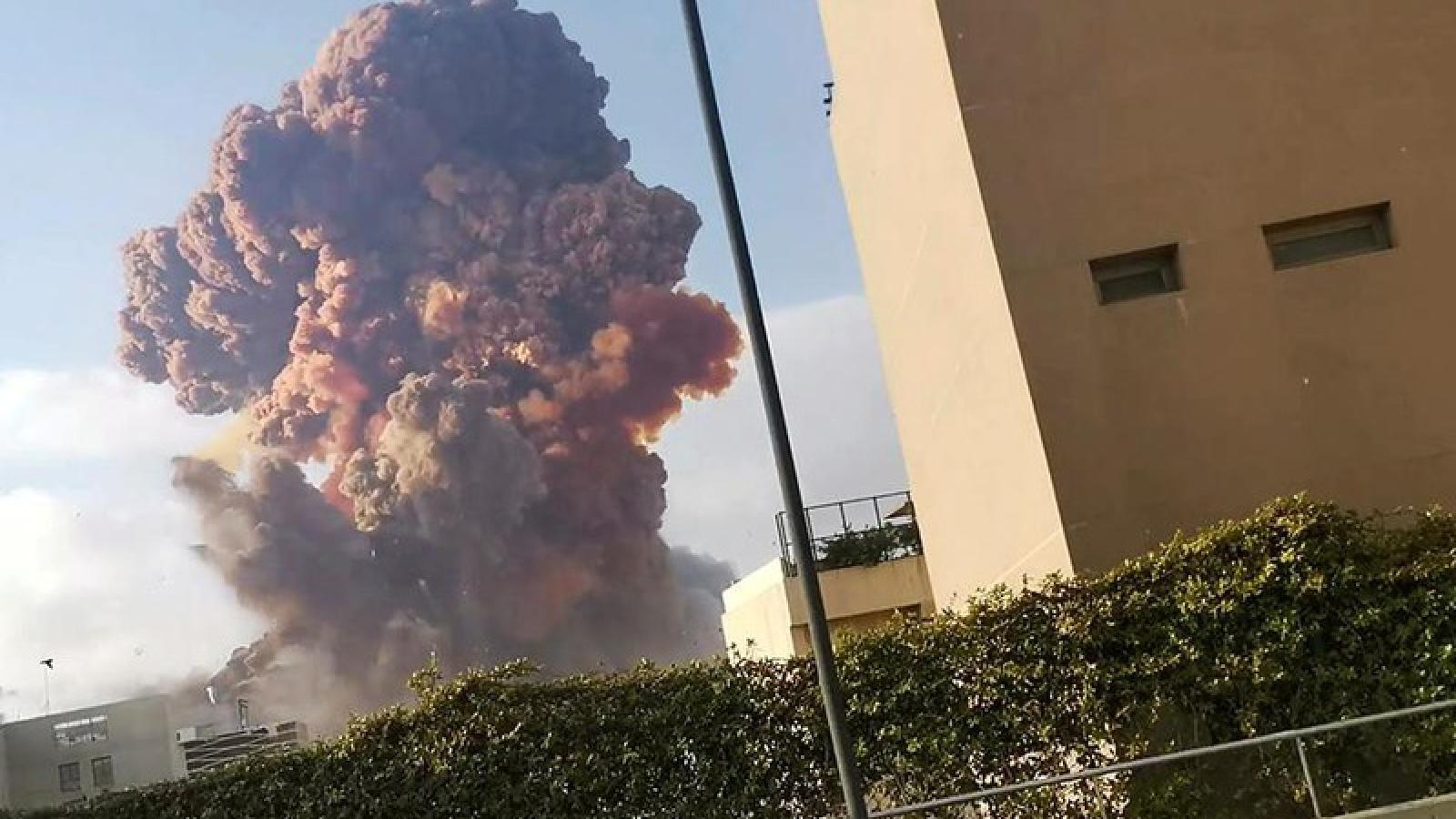 Lebanon điều tra khả năng có can thiệp bên ngoài trong vụ nổ kinh hoàng