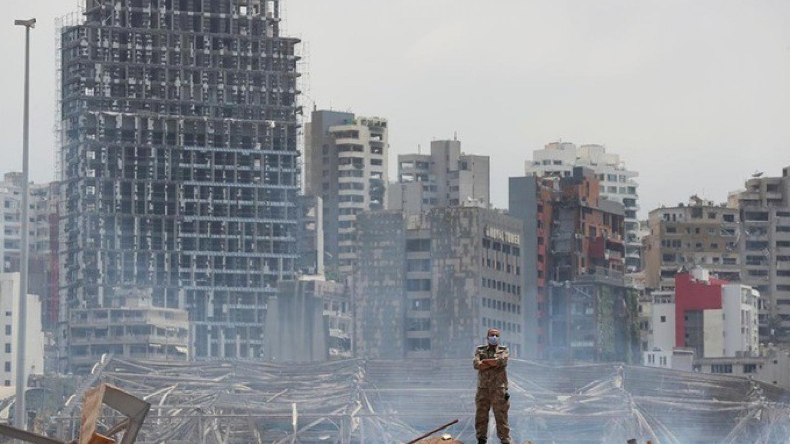 Chính phủ Lebanon đối mặt với sức ép cải cách sau vụ nổ kinh hoàng