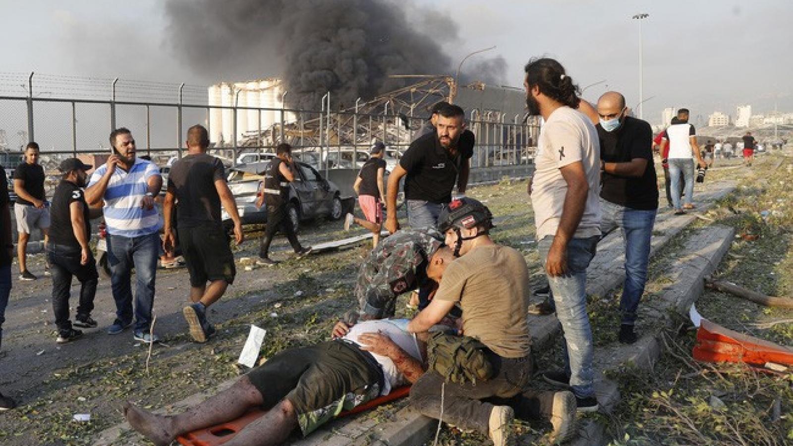 Mỹ kêu gọi điều tra vụ nổ– Liên đoàn Ngân hàng Arập lập Quỹ tái thiết Beirut