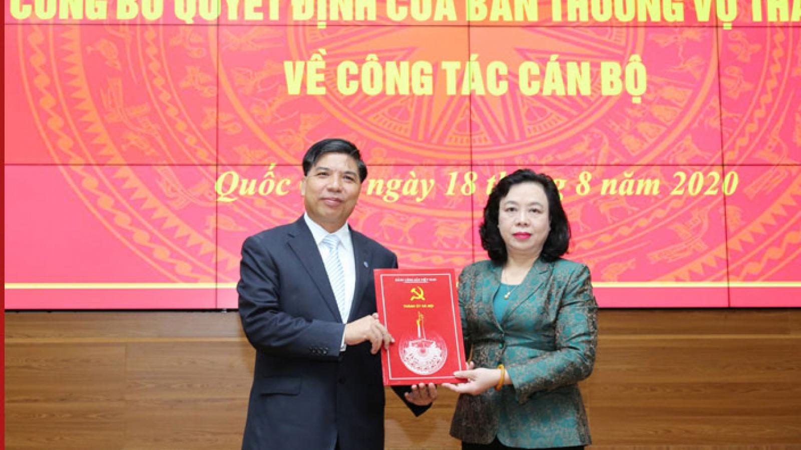 Hà Nội công bố Quyết định về nhân sự tại huyện Quốc Oai