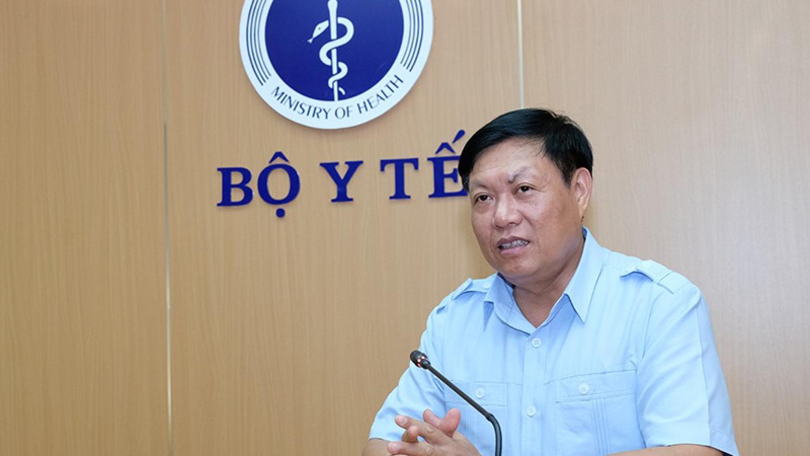 Bộ Y tế tiếp nhận ủng hộ 50.000 test thử Covid-19