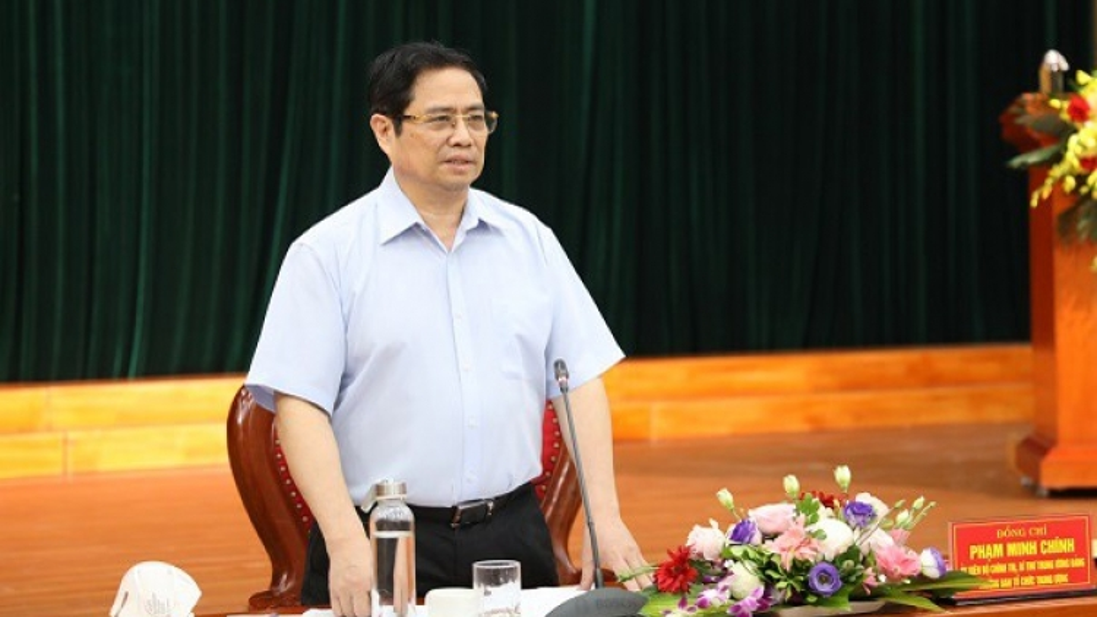 """Ông Phạm Minh Chính: Phải đánh giá cán bộ """"đúng và trúng"""" để bố trí đúng người"""
