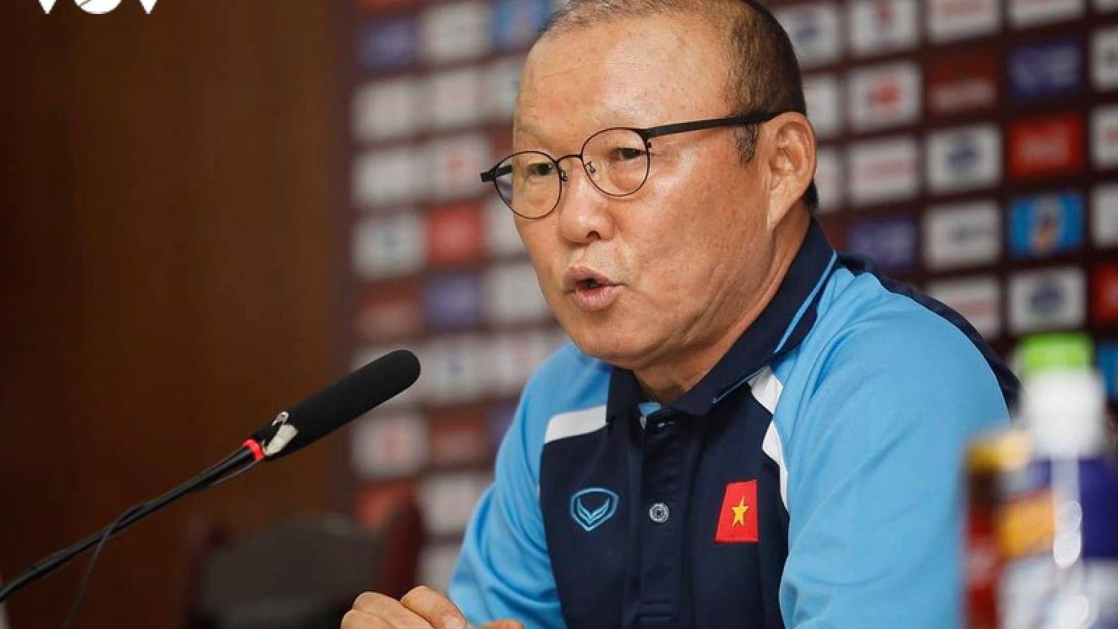 HLV Park Hang Seo: Nếu có thay đổi về lương, tôi có thể ký lại hợp đồng với VFF