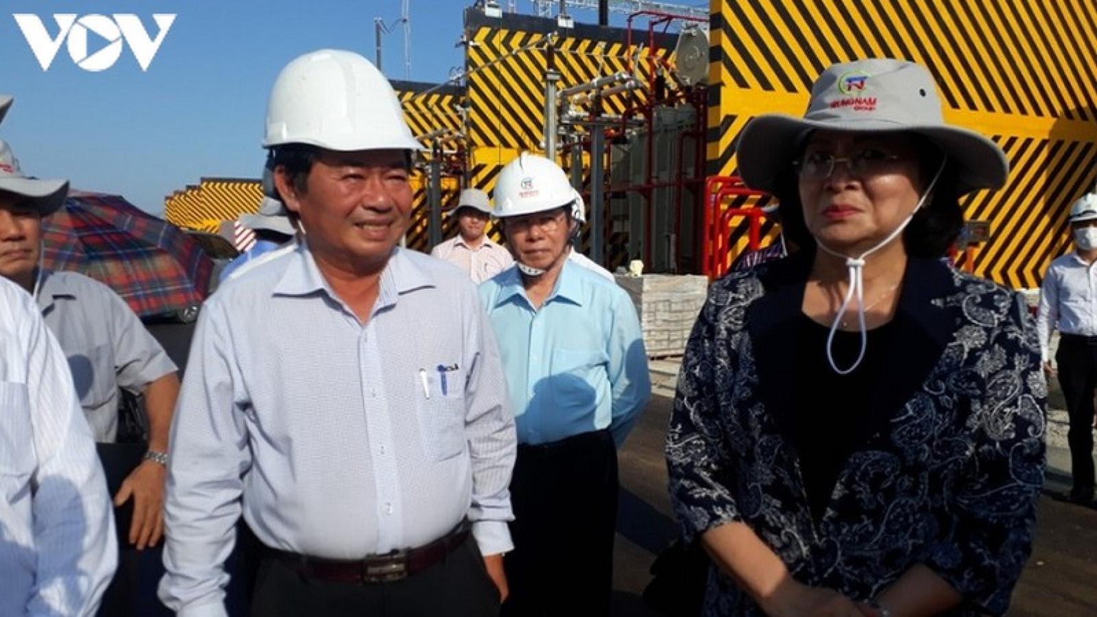 Phó Chủ tịch nước Đặng Thị Ngọc Thịnh thăm và làm việc tại Ninh Thuận