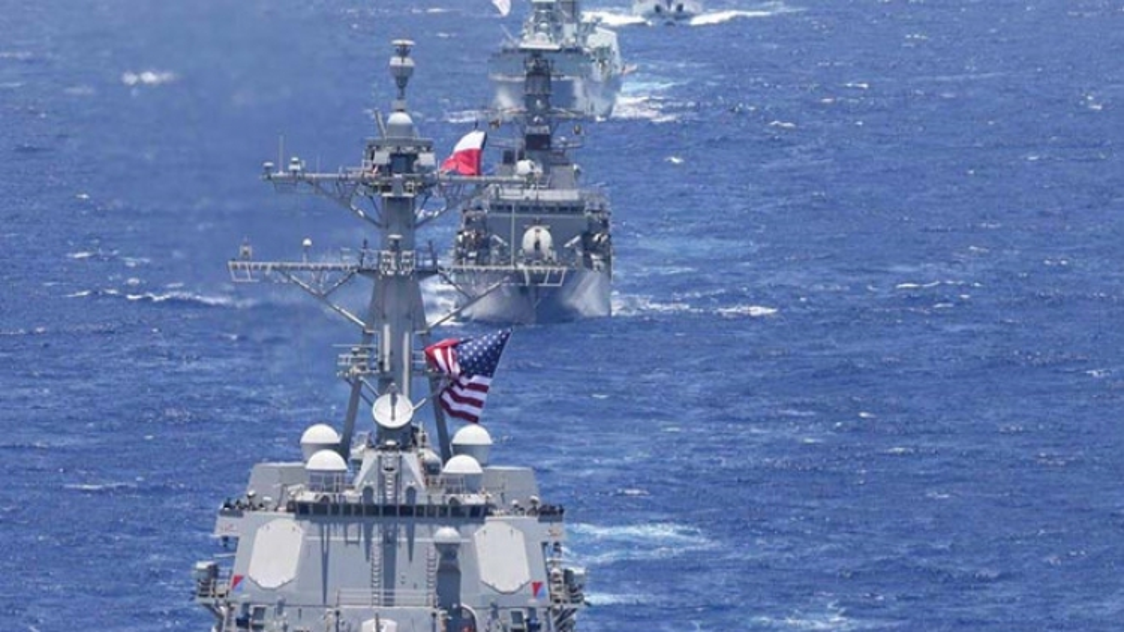Mỹ tập trận hải quân lớn nhất thế giới giữa căng thẳng với Trung Quốc