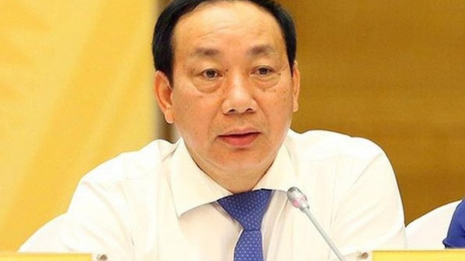 Nóng 24h: Khởi tố, bắt tạm giam cựu Thứ trưởng Bộ GT-VT Nguyễn Hồng Trường