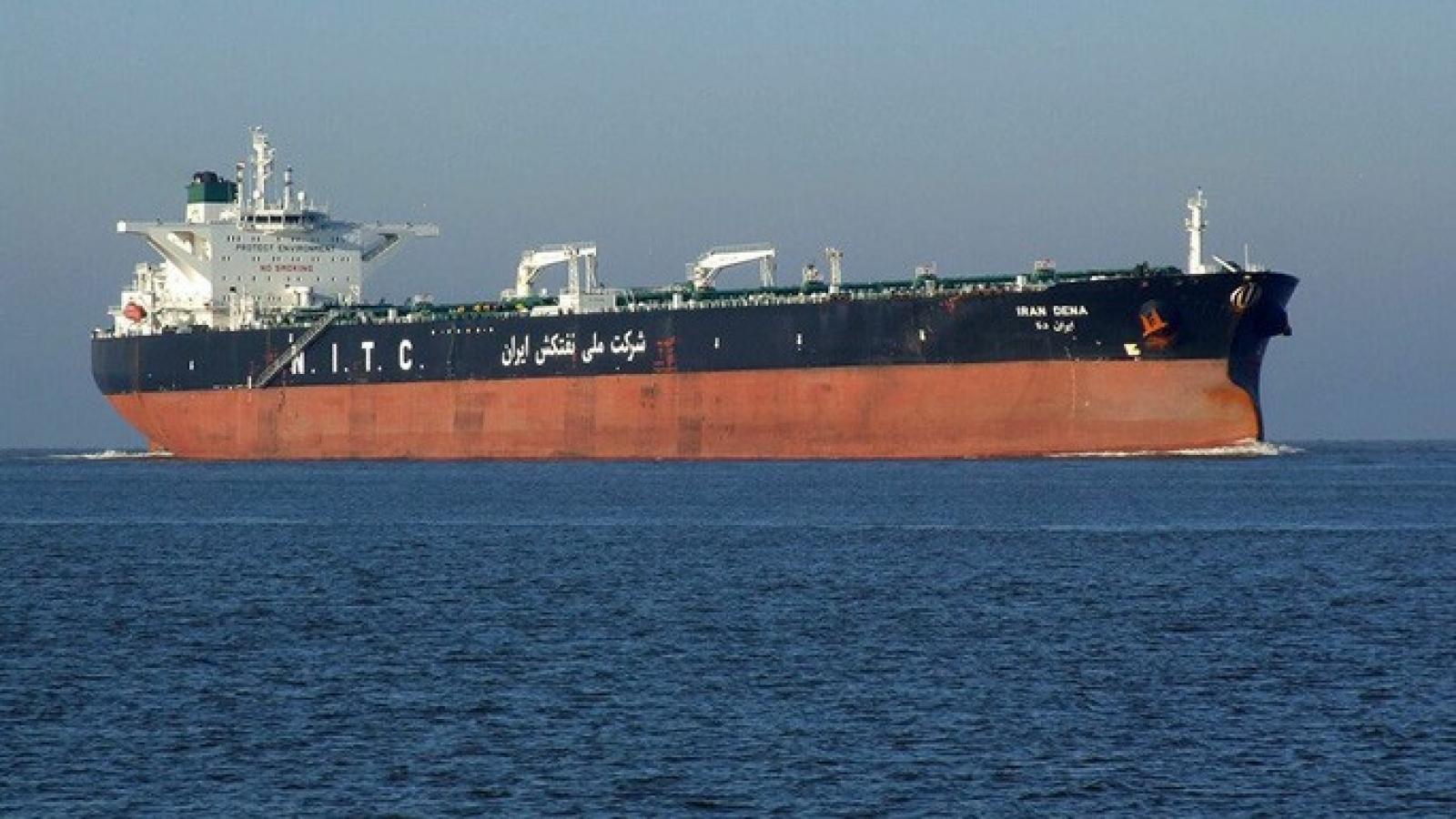 Iran phủ nhận thông tin Mỹ bắt giữ tàu chở dầu tới Venezuela
