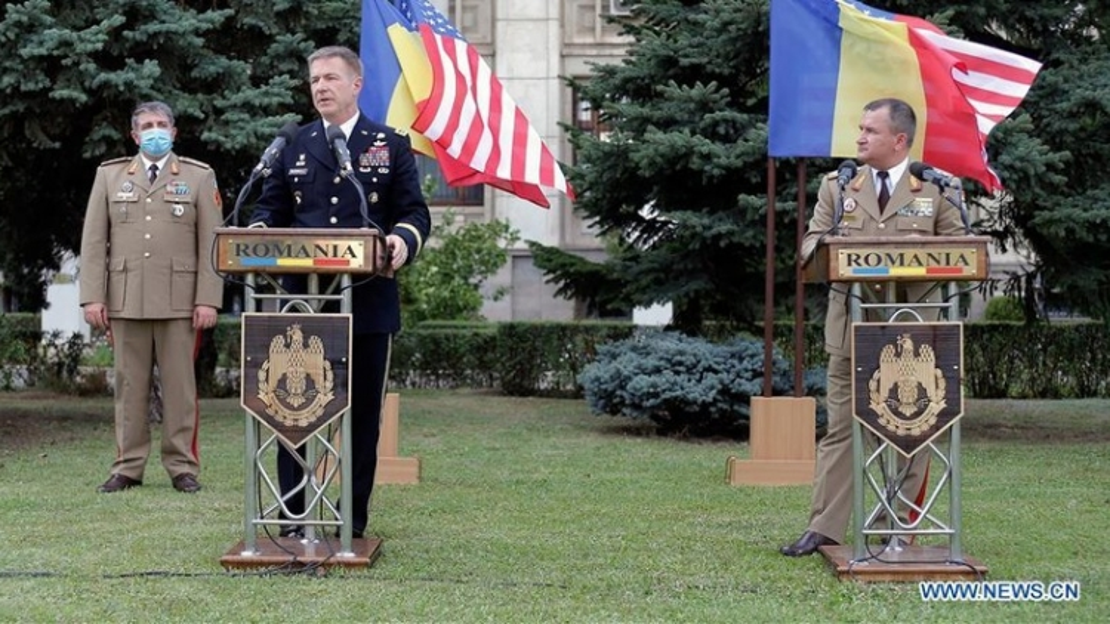 Mỹ và Romania thảo luận về triển khai lính tại Romania